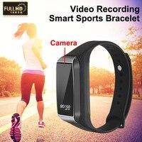 1080P HD Mini Camera Pro K68 Smart Bracelet with Camcorder DVR Video Audio Recorder Wristband Watch Band Sport Fitness Tracker