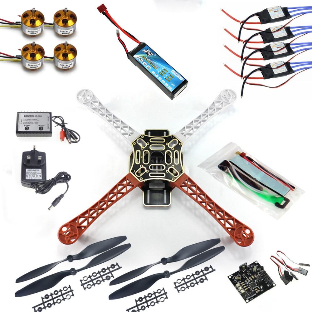 все цены на F02192-B RC 4 Axis Multi QuadCopter UFO ARF/Kit No TX&RX:KK V2.3 Circuit board+1000KV Motor+30A ESC+Lipo+F450 Flamewheel онлайн