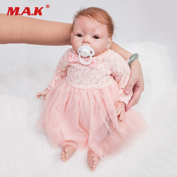 22 Inches 55 cm Girl Baby Silicone Reborn Dolls Bebe Doll Princess Doll Toys Grown Up Partner for Children Gift