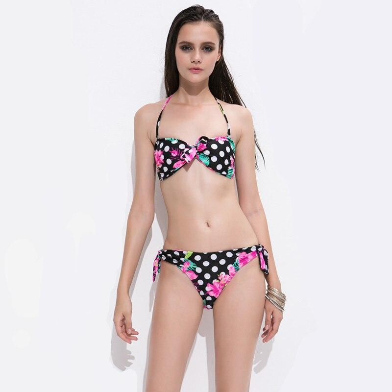 Nautica swimwear coastal dot bikini