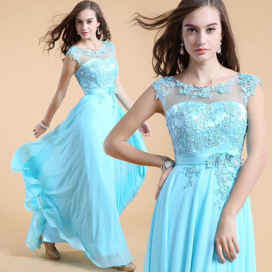 Free Shipping Hot Sale Wholesale & Retail Silk Chiffon Appliques O ...