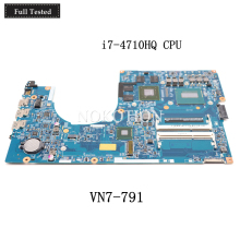 NOKOTION Laptop Motherboard For Acer aspire VN7-791 448.02G08.001M NBMQR11004 NB.MQR11.004 i7-4710HQ CPU GTX860M full tested