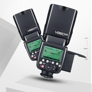 Image 3 - Godox V860II C V860II N V860II S V860II F V860II O TTL HSS Li ion Battery Speedlite Flash for Canon Nikon Sony Fuji Olympus
