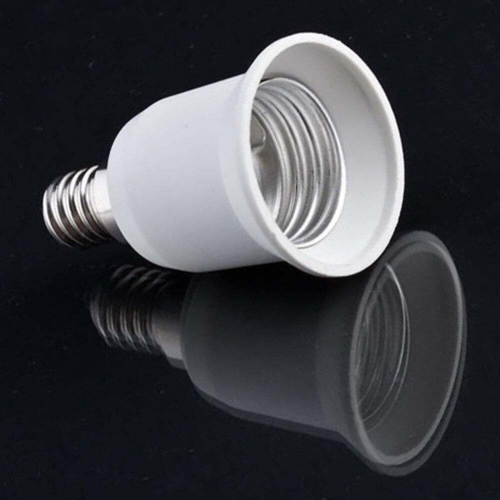LED Adapter E14 to E27 Lamp Holder Converter Socket Light Bulb Lamp Holder Adapter Plug Extender Led Light Wholesale Drop ship