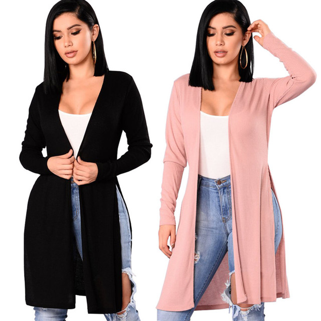 Aliexpress.com : Buy Six senses women Long Cardigan 2017 Autumn ...