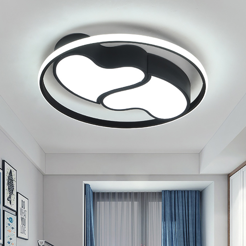 Nordic led lamps modern minimalist warm romantic creative home bedroom study lamp living room ceiling lamp in Ceiling Lights from Lights Lighting
