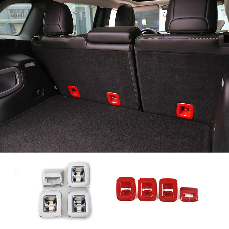 shineka seats backrest belt button decoration cover stickers for jeep cherokee 2014 2015 2016. Black Bedroom Furniture Sets. Home Design Ideas