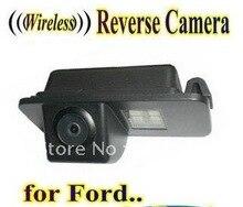 БЕСПРОВОДНОЙ Автомобильный Камера заднего вида камера заднего резервного копирования для FORD Fiesta Kuga S-Max Mondeo Фокус
