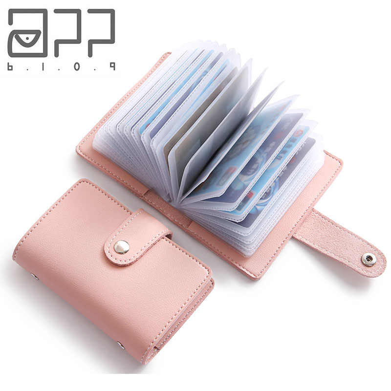 APP BLOG Women Men Passport Cover ID Credit Business Cards Holder Wallet Card Bag Case Femme Carteira Mujer For Documents 2018