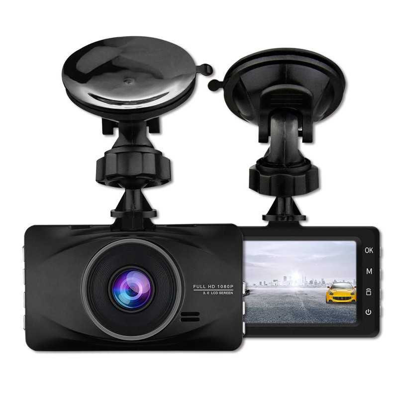 цена на ENKLOV 3 Inch LCD Screen Dash Cam FHD Night Vision 1080P Car Dvr 170 Degree Wide Angle Dashcam Night Vision Car Camera