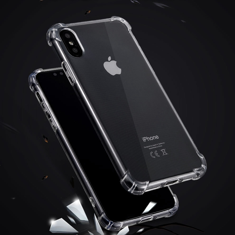 sneakers for cheap e7408 c263b IPHONE X ANTI SHOCK DROP PROOF TRANSPARENT PROTECTION COVER CLEAR CASE