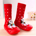 Baby Shoes Baby Floor Socks With Rubber Soles  Cotton Non-Slip Rubber-Soled Toddler Soft Bottom Ws933
