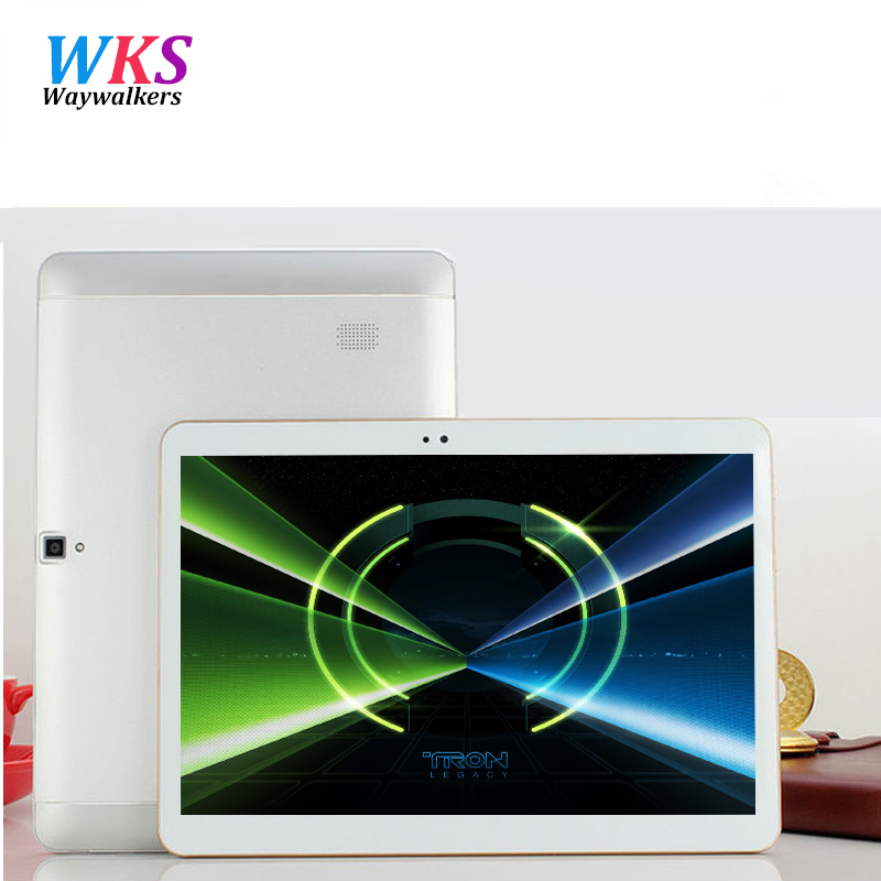 Newest Waywalkers 10 inch tablets Dual Core Camera 4G LET phone call tablet Android 6 0