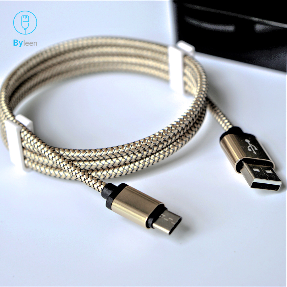 Byleen Usb Type-c Fast Charging Cable For Pocophone F1 Xiaomi Mi A2 Mi8 Se Mix 2s A1 Max 2 Smartphone Usb Tipo C Charger Cord
