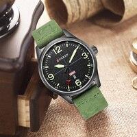 CURREN Men S Watches Top Brand Men Quartz Watch Man Fashion Sport Auto Date Clock Male