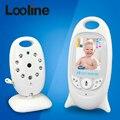 2.0 polegada Cor de Vídeo sem fio Do Bebê Monitor de Segurança Camera 2 Way Discussão NightVision IR LED de Monitoramento de Temperatura com 8 Canções de Ninar