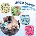 Bebé pañal de tela pañales de natación de baño del bebé del traje de baño para niños o niñas niños traje de baño bañador Del Envío Libre