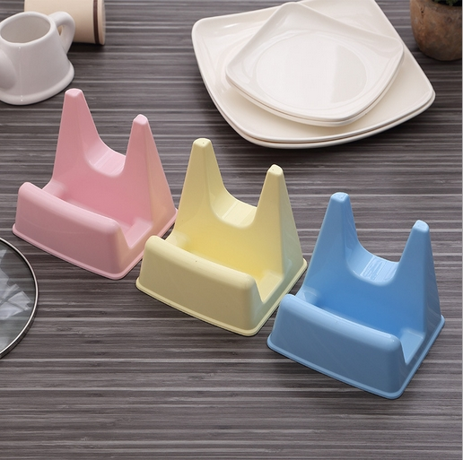 Hot Sale 12.6*11*12.5cm Mini Size Convenient Kitchen Accessories Pan Lid Holder Chopping Board Rack Free Shipping