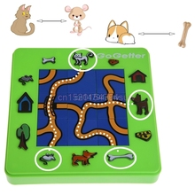 Go Getter Cat and Mouse Toy Board Cartoon Puzzle Maze Intelligence Game Gift #H055#