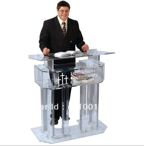 Three-tier Slap-up Acrylic Lectern Plexiglass