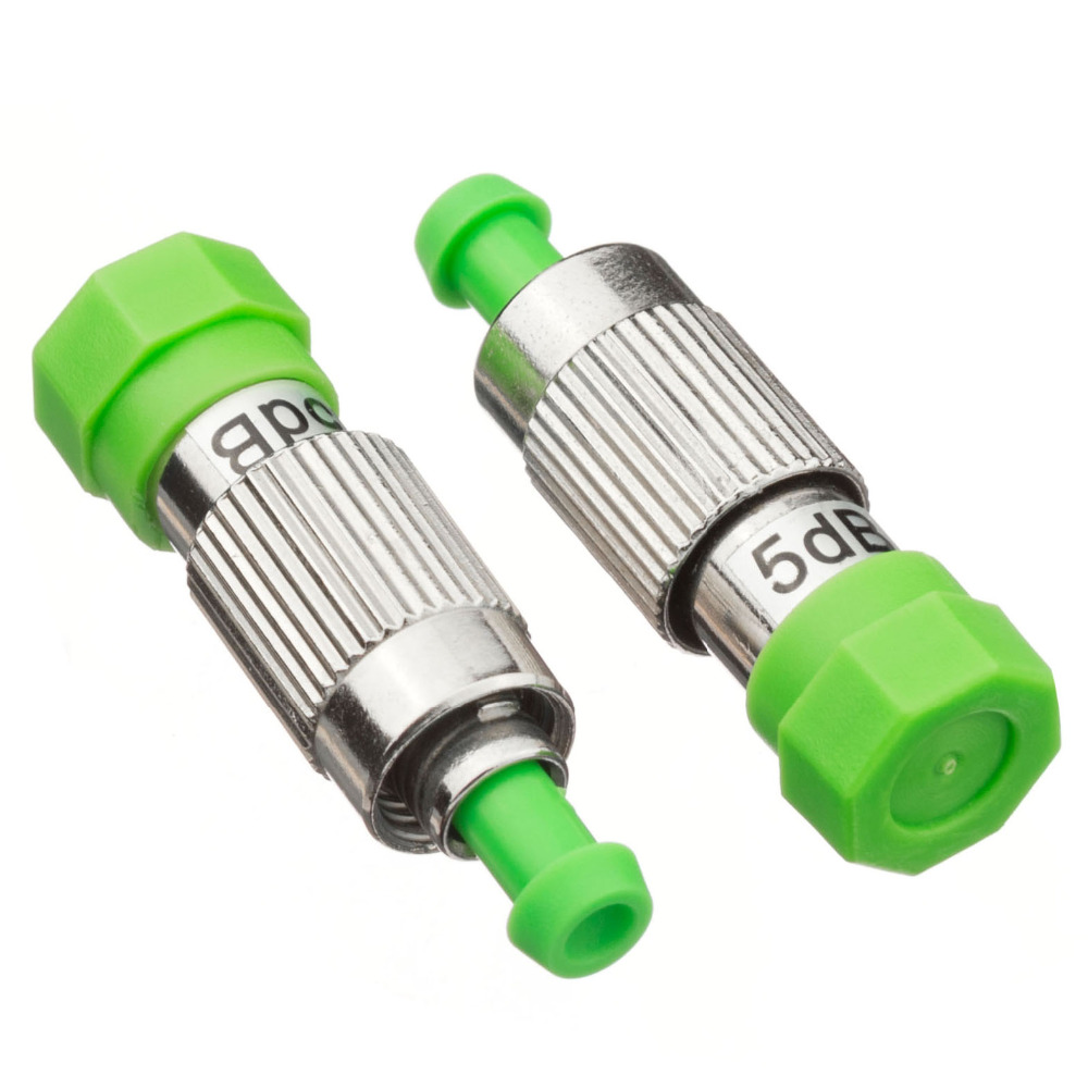 5PCS bag FC APC female to male 5dB fiber optic Attenuator FC APC 5db female male Fiber Optic Attenuator Adapter in Fiber Optic Equipments from Cellphones Telecommunications