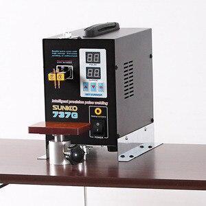 Image 5 - SUNKKO 737G battery Spot Welder 1.5kw Precision Pulse Spot Welder Led Light Welding Machine Use 18650Battery Nickel Strip Welder