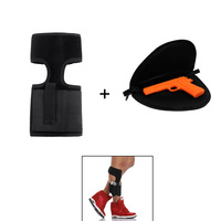 Ankle Holster Concealed Carry With Foldable Handgun Rug Nylon Pouch Universal Pistol Leg Holste Mag Pouch