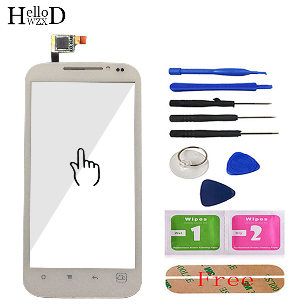 4.5'' Touch Screen For <font><b>DNS</b></font> <font><b>S4501</b></font> S4501M Smartphone Front Touch Glass Touch Screen Digitizer Panel Lens Sensor Repair Parts Tools image