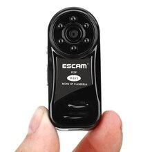 Escam qm10 pulgar mini cámara ip wifi sd micro cctv de Vigilancia de Cámaras de seguridad 720 P Cámara Web Inalámbrica HD de La Visión Nocturna Cam vídeo