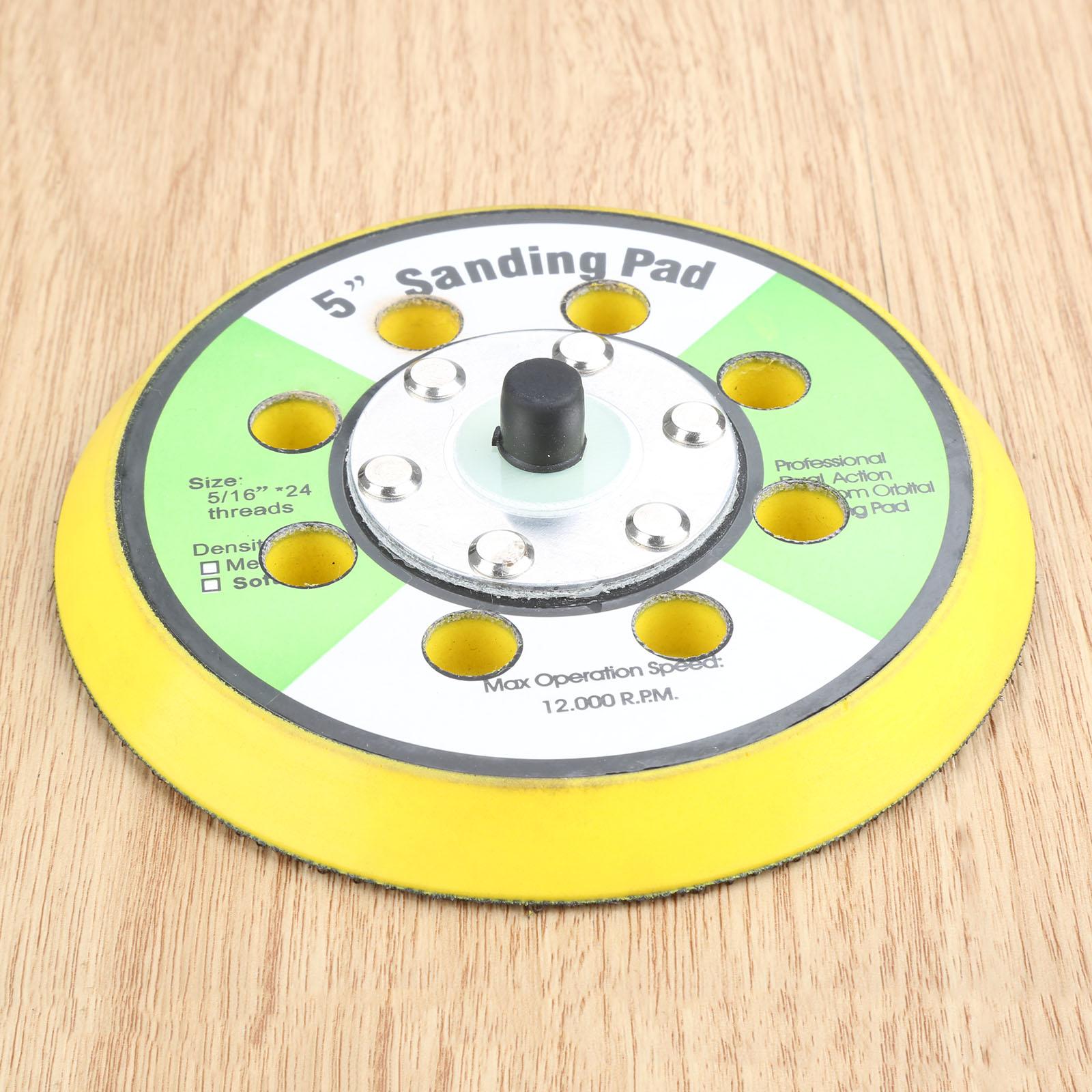 DRELD 125mm 8 Hole Sanding Pad 5