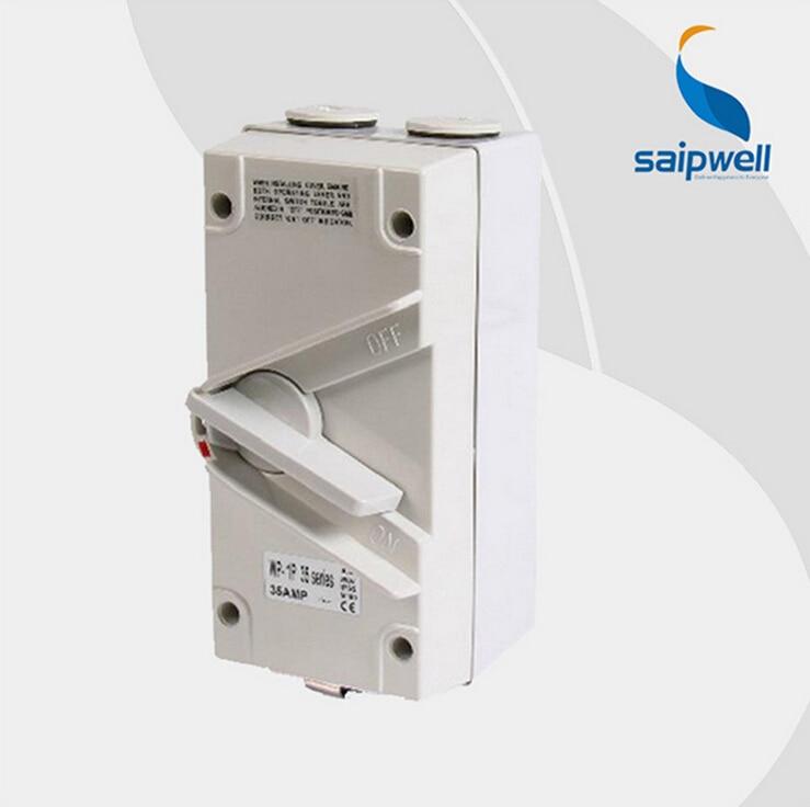 Saipwell IP66 15a Rotary Selector Switch Waterproof Rotary Switch (SP-1P35A)Saipwell IP66 15a Rotary Selector Switch Waterproof Rotary Switch (SP-1P35A)