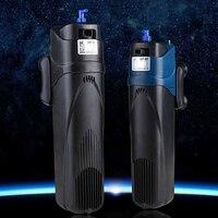Sunsun JUP 01 JUP 02 UV Light Aquarium Fish Tank Algae Cleaner 2 in 1 Submersible Filter UV Sterilizer