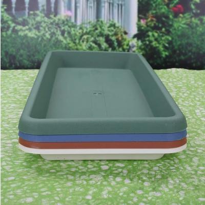 Pot Holder Rectangular Plastic Pallet Tsui Yun Long Planters Elongated Tray  Gardening Flowerpot Saucer Tori
