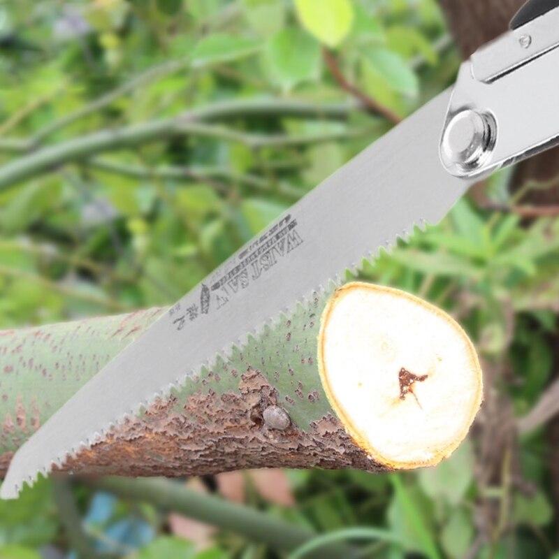 Tragbare Faltbare Haushalt Anti Überspringen Hand Stahl Sägen Gartenarbeit Werkzeug Noch Nicht VulgäR Werkzeuge