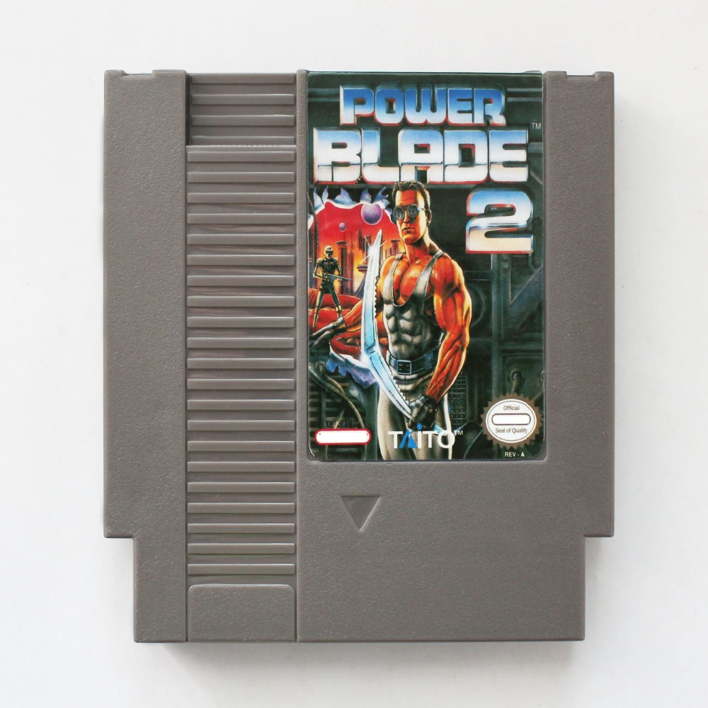 Power Blade 2 <font><b>72</b></font> <font><b>Pins</b></font> <font><b>Game</b></font> <font><b>Card</b></font> For 8 Bit <font><b>Game</b></font> Player image