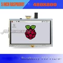 1 шт. Малины PI2 ПЭ3/B + Сенсорный Экран 5 дюймов HDMI ЖК-Дисплей Высокой Четкости