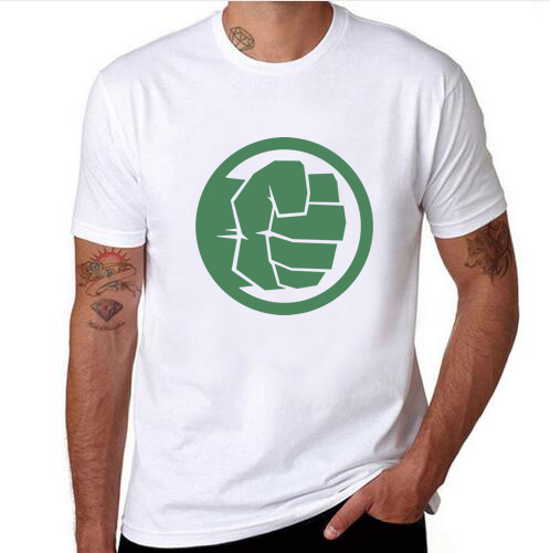 Incredible Hulk Fist Bump Men T Shirt Fashion Summer Cool Funny Fist