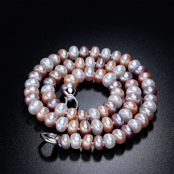Natural Freshwater Pearl Necklace For Women Jewelry Necklaces Women Jewelry