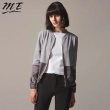 ME Jacket Women Cardigan Zipper Bomber Long Sleeve Patchwork Oversized Woman Winter Coats and Jackets Autumn Winter Women Coats