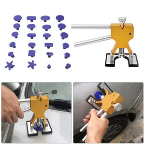 Image 4 - Adjustable Gold Pressure Pliers Car Dent Repair Puller Kit Car Body Dent Removal Tool 24 Tabs Dents Repair Send a Small Gift