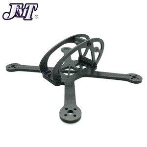 Jmt líder/leader3 130mm kit quadro de fibra carbono para mini rc fpv racing drone peça de reposição diy quadcopter para 1106 motor