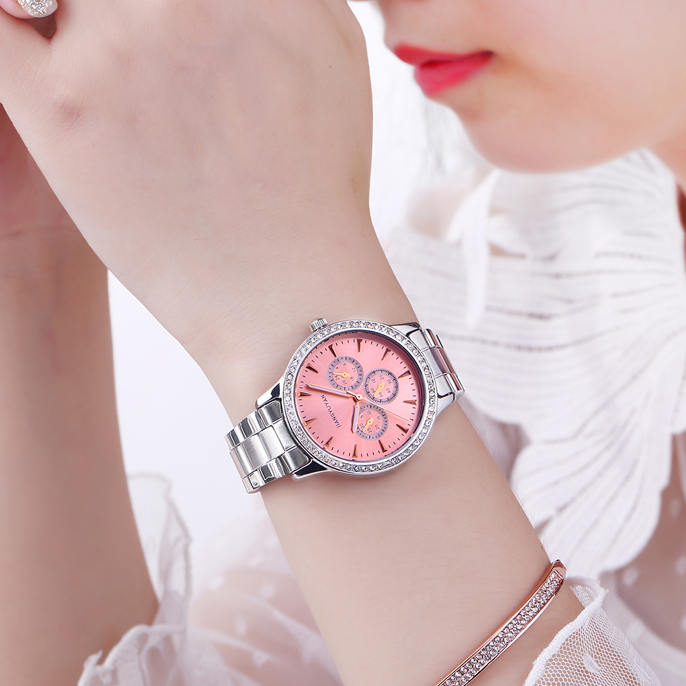 Top Brand Luxury Women's Watches Women Quartz Watch Relojes Reloj Mujer Montre Femme Relogio Feminino Waterproof Ladies Clock 2016 top luxury brand casual dress quartz watch women watches woman relogio feminino montre femme reloj mujer saat orologi donna page 4 page 3