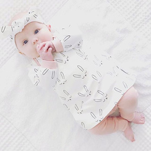Baby Girl Clothes Newborn Tiny Cottons Autumn 2017 Long Sleeve Cute Rabbit Top Pants 2PCS Infant Girls Clothig Set Baby Outfit