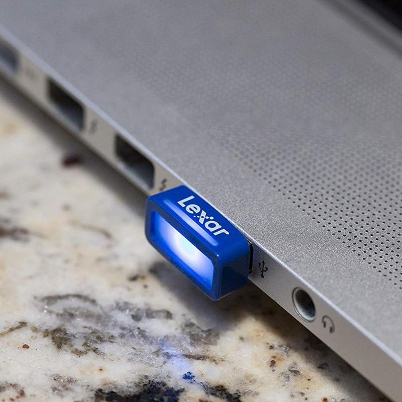 Image 5 - 100% Original Lexar USB 3.0 flash drive JumpDrive S45 32GB pen drive high speed 150MB/s Mini cle car usb stick pendrive animado-in USB Flash Drives from Computer & Office
