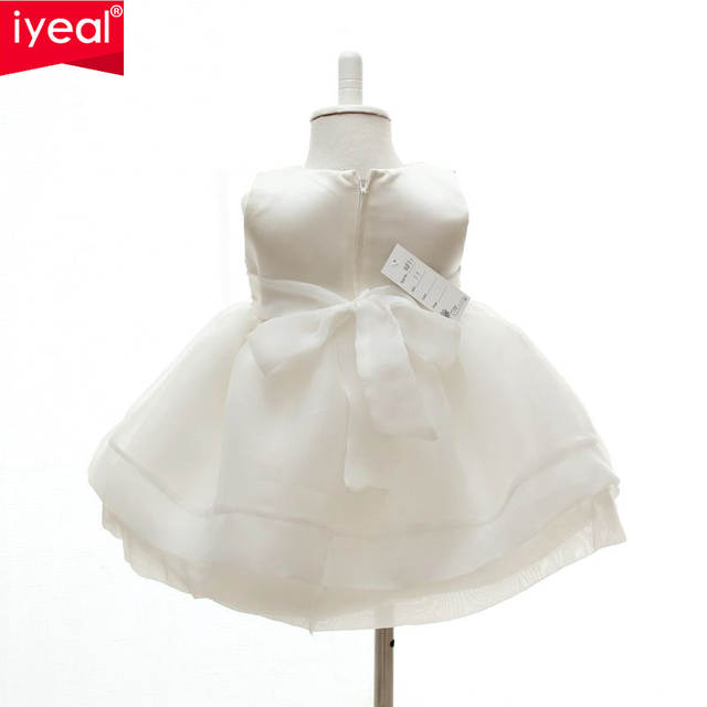 Online Shop Iyeal Baby Girls Elegant Communion Dresses New Child