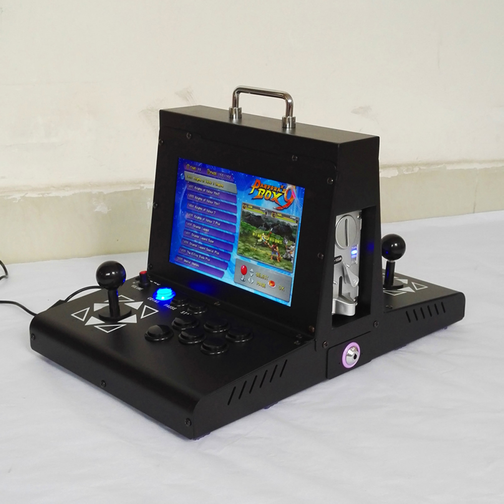 Portable mini portable flip home arcade built in 2222 retro nostalgic game machine pandora box 9D in Coin Operated Games from Sports Entertainment