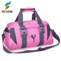 2017 Professional Waterproof Oxford Cloth Sports Gym Bag Women Men For The Fitness Training Shoulder Handbags