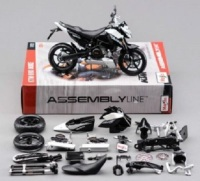 Maisto 1:12 KTM 690 Duke Assemble DIY Motorcycle Bike Model KIT Toy New In Box