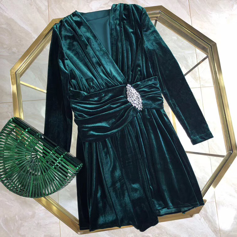 Floral Supérieure Robe Qualité D'été Femmes Marque mollet Mode Printemps Pour Mi 2019 Robes De 7qf7n81