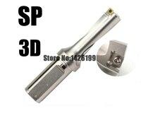 SP-C32-3D-SD31--SD32.5  substituir As Lâminas E Tipo Broca Para SPMW SPMT Inserir U Buraco Raso indexable insert brocas de Perfuração